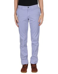 Alviero Martini 1A Classe Trousers Casual Trousers Men Lilac