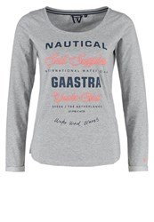 Gaastra Long Sleeved Top Grey Heather