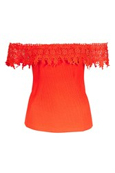 Wyldr In My Mind Frilly Top By Red