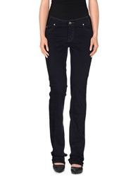 Brooksfield Trousers Casual Trousers Women Dark Blue