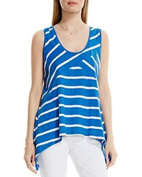 Two By Vince Camuto Striped Asymmetric Tank Pool Side