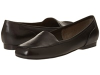 Enzo Angiolini Liberty Black Leather Women's Flat Shoes
