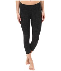 Prana Ashley Capri Legging Black Geo Women's Capri