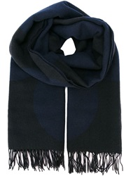Cedric Charlier Cedric Charlier Woven Scarf Blue