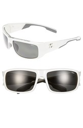 Women's Zeal Optics 'Snapshot' 65Mm Polarized Sunglasses White