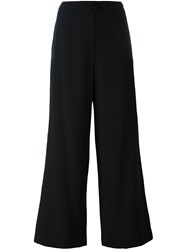 Chanel Vintage Cropped Trousers Black