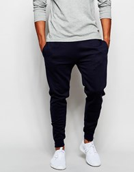 New Look Joggers With Zip Hem Detail Navy