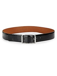 Cole Haan Buckle Leather Belt Black