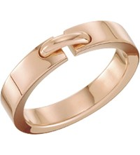 Chaumet Liens 18Ct Pink Gold Wedding Band