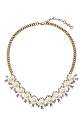 Women's Bp. Faux Pearl And Crystal Necklace