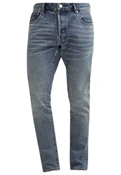 Earnest Sewn Bryant Slim Fit Jeans West Destroyed Denim