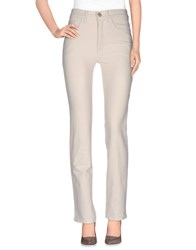 Laura Biagiotti Trousers Casual Trousers Women Ivory