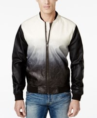 Guess Drake Dip Dye Faux Leather Jacket
