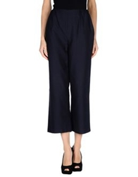 Andrea Incontri Casual Pants Dark Blue
