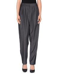 Kai Aakmann Trousers Casual Trousers Women Grey
