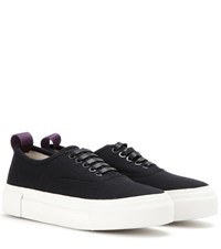 Eytys Mother Canvas Sneakers Black