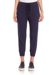 Wilt Cropped Sweatpants Blue Night