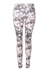 Floral Printed Jeans By Rare Multi