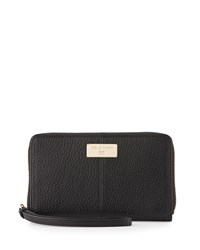 Cole Haan Kiera Leather Phone Wallet Black