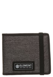 Element Endure Wallet Char Herringbon Mottled Dark Grey