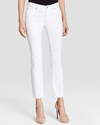Eileen Fisher Skinny Ankle Jeans In White