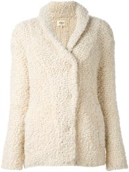 Bellerose Buttoned Cardigan Nude And Neutrals