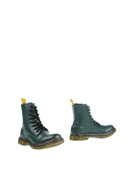 Cafe'noir Cafenoir Ankle Boots Green