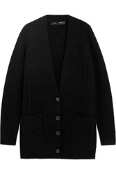 Proenza Schouler Oversized Ribbed Wool And Cashmere Blend Cardigan