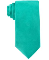 Perry Ellis Oxford Solid Tie Green