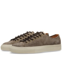 Buttero Tanino Low Suede Sneaker Taupe