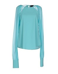 Hotel Particulier Shirts Blouses Women Turquoise
