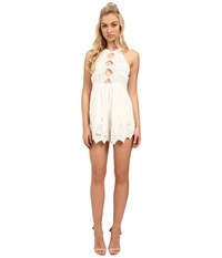 The Jetset Diaries Mariposa Romper Ivory Women's Jumpsuit And Rompers One Piece White