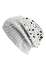 Women's Autumn Cashmere Embellished Cashmere Beanie