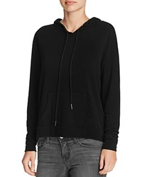 Michelle By Comune Cove Drawstring Hoodie Black