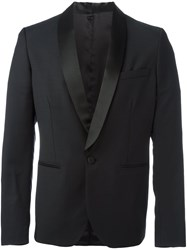 Christian Pellizzari Classic Double Breasted Blazer Black