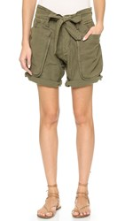 Nlst Field Shorts Olive