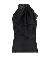 Milly Gwyneth Bow Front Halter Top Female