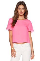 Myne Sand Crop Top Pink