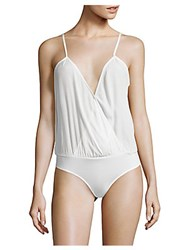 Lovers Friends Solid Camisole And Brief Set Ivory