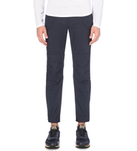 Kolor Quilted Detail Trousers Navy