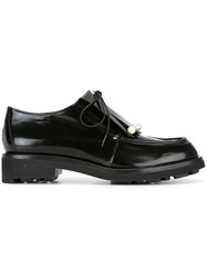 Robert Clergerie 'Biro' Lace Up Shoes Black