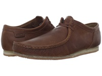 Clarks Wallabee Run Tan Leather Men's Lace Up Casual Shoes