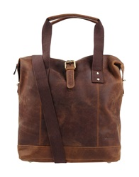 Forbes And Lewis Handbags Dark Brown