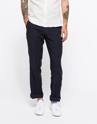 Apolis Linen Civilian Chino Pant Navy