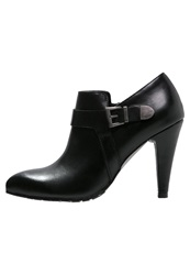 Anna Field High Heeled Ankle Boots Black