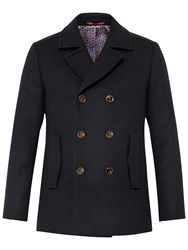 Ted Baker Biza Wool Blend Peacoat Navy