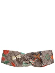Gucci Printed Silk Duchess Headband