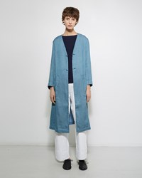 Blue Blue Japan Laong Gawn Coat Sax