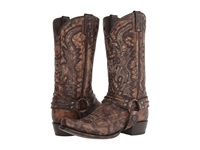 Stetson Outlaw Eagle Brown Cowboy Boots