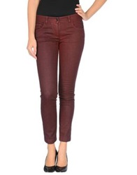 Dolce And Gabbana Denim Pants Brick Red